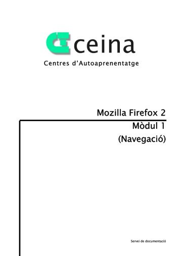 Mozilla Firefox 2 Mòdul 1 (Navegació) - Ajuntament d'Abrera