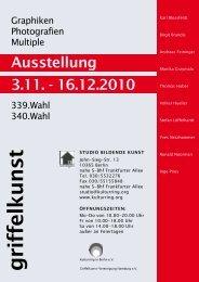 Plakat - Kulturring in Berlin eV