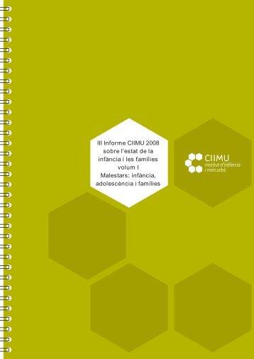 III Informe CIIMU 2008 - Ajuntament de Barcelona