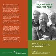 Helmut Peters - Kulturserver NRW