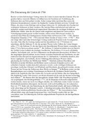Die Erneuerung der Linien ab 1766 - Kulturverein Bellheim