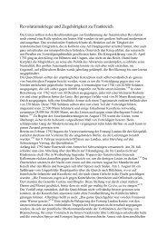 Revolutionskriege und Zugehörigkeit zu Frankreich - Kulturverein ...