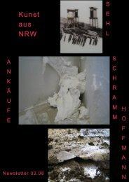 Newsletter zwei-2008 - Kunst aus NRW