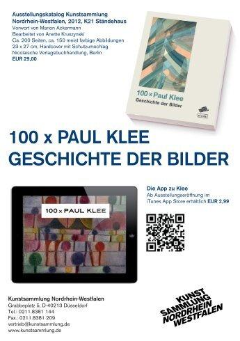 100 x Paul Klee geschichte der Bilder