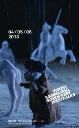 Quartalsprogramm 04/05/06 - Kunstsammlung NRW