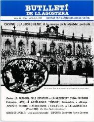 Març 1982 - Arxiu Municipal de Llagostera - Ajuntament de Llagostera