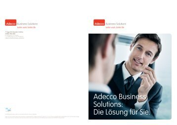 Adecco Business Solutions Broschüre (PDF)