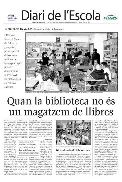 L'IES Josep Sureda i Blanes de Palma ha guanyat el primer premi ...