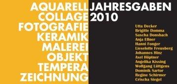 jahresgaben - Der Kunstverein zu Frechen e.V