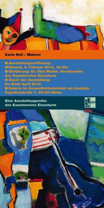Karin Noll - Kunstverein Eisenturm Mainz eV