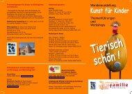 Kunst für Kinder - Kunstverein Brücke 92