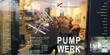 Laden Sie hier unseren aktuellen Flyer herunter - Kunstverein für ...