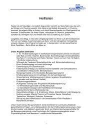 Heilfasten-PDF-Datei - Kurkliniken.de
