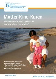 Mutter-Kind-Kuren Flyer - Kurkliniken.de