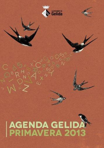 PRIMAVERA2013(2) - Ajuntament de Gelida