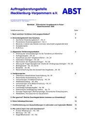 Öffentliches Vergaberecht in Polen - ABST