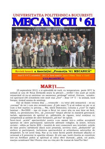 MECANICII '61 - REVISTA CURENTĂ (1)
