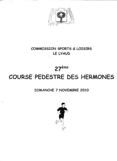 Résultats Cross des Hermones 2010