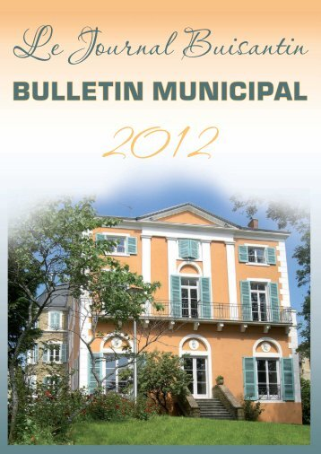Bulletin municipal - Bois d'Oingt