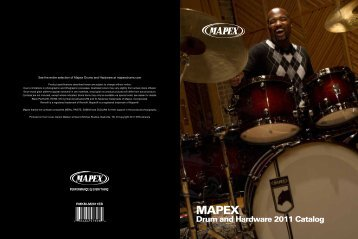 Drum and Hardware 2011 Catalog - MAPEX JAPAN