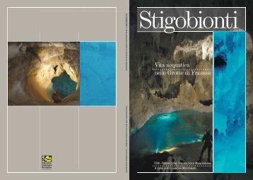 Stigobionti - Federazione Speleologica Marchigiana