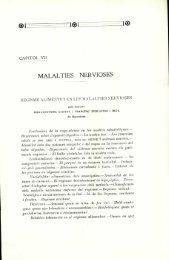 Regisme alimentici en les malalties nervioses