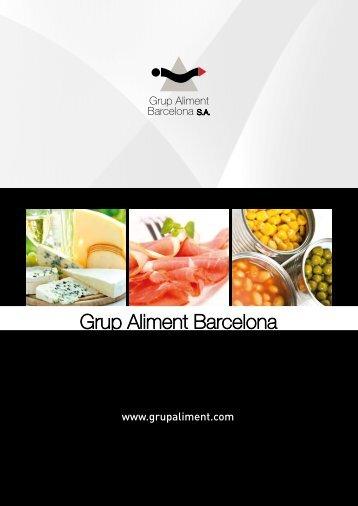Catálogo - Grup Aliment