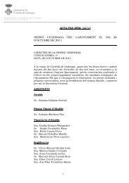 Acta Ple Núm. 14/11 - Ajuntament de Cornellà
