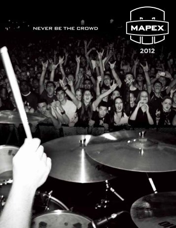 NEVER BE THE CRDWD - Mapex Drums
