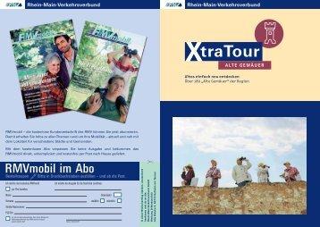 RMV Xtra Tour Alte Gemäuer