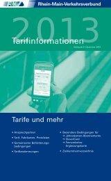 RMV-Tarifinformationen (PDF, 1.6 MB)