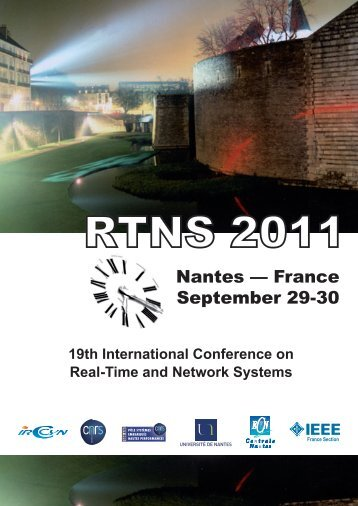RTNS 2011 Proceedings - RTNS 2011 - Ecole Centrale de Nantes