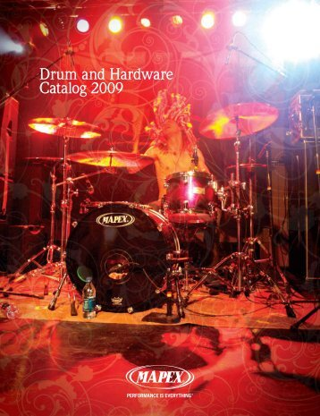 Drum and Hardware Catalog 2009 - Mapex Drums - USA