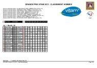 grands prix vitam 2013 - classement hommes - Le comité Mont-Blanc
