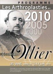 Programme 3e Congrès Ollier - IMM