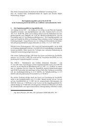 Die Eingliederungshilfe nach § 35a SGB VIII in der Neufassung ...