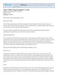 Albert Trillat Young Investigator's Award - ScanGrants