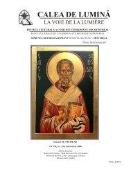 Nr. 157-158 (Mai -Iunie 2007) - Biserica Ortodoxă Română