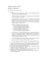 Ghid de studiu 2012 sem I - UMF - Iuliu Haţieganu