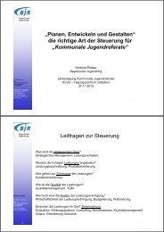Planen, Entwickeln und Gestalten - Kommunalverband für Jugend ...