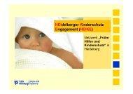 Vortrag: Netzwerk Frühe Hilfen und Kinderschutz in Heidelberg ...