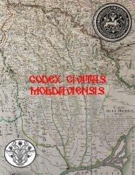 CODEX CIVITAS MOLDAVIENSIS