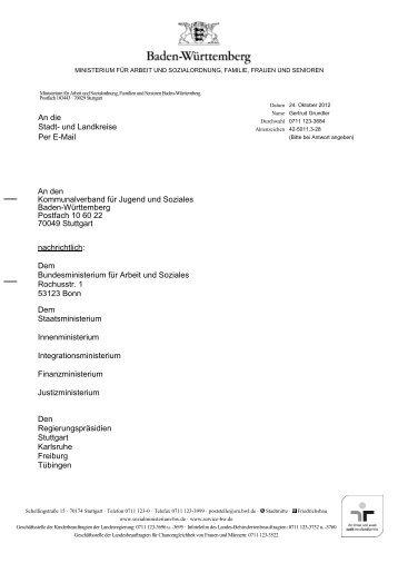 Regelsätze und Barbeträge ab 01.01.2013 - Kommunalverband für ...