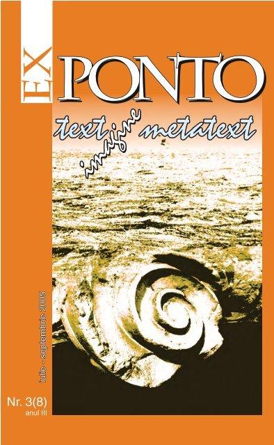 Nr. 3 (08) anul III / iulie-septembrie 2005 - ROMDIDAC