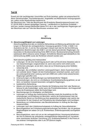 (HVM) gültig ab 1. Januar 2012 - Kassenärztliche Vereinigung ...