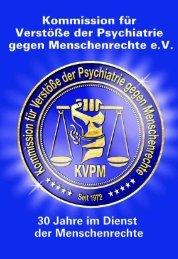 Download - Kommission für Verstöße der Psychiatrie gegen ...