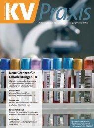 Neue Grenzen für Laborleistungen | 8 - KV RLP