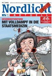 Nordlicht_01_2003.qxd - Kassenärztliche Vereinigung Schleswig ...