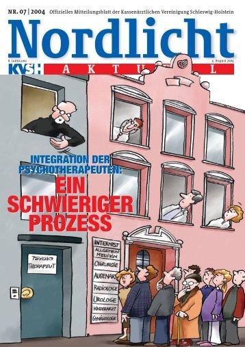 Nordlicht_07_2004_neu - Kassenärztliche Vereinigung Schleswig ...