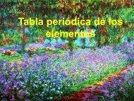 Tabla periódica de los elementos - DePa